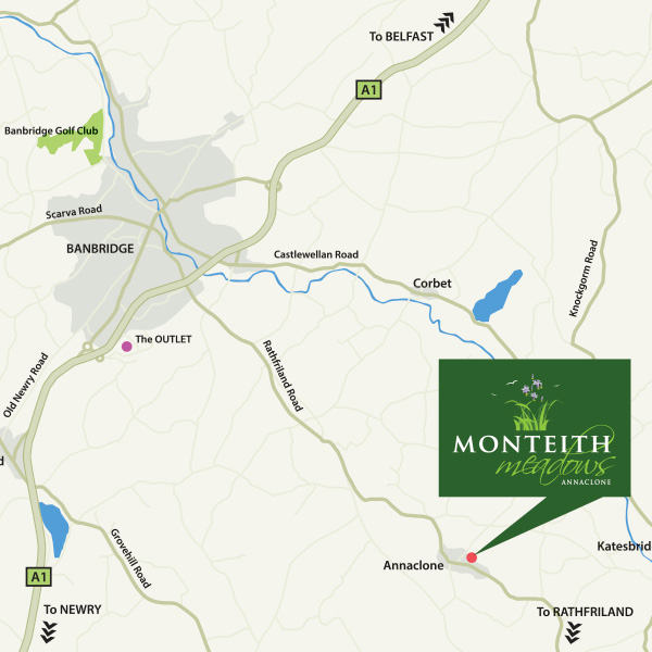 Monteith Meadows Location Map